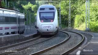 TRAINSPOTTING (VOL. 1230) Trenes renfe circulando por la vía (UHD 4K).