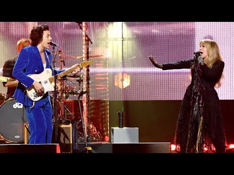 STEVIE NICKS & HARRY STYLES - Stop Draggin' My Heart Around (Rock & Roll Hall Of Fame)