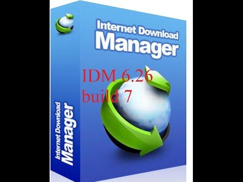 internet download manager 6.26 BUILD 7☑️
