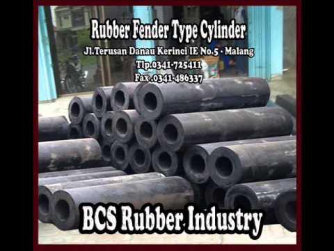 """Rubber fender ""BCS Rubber Industry - Marine Rubber."