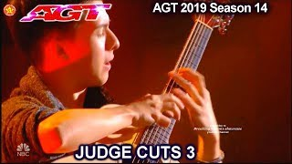 Marcin Patrzalek guitarist HE COULD WIN THE WHOLE THING | America's Got Talent 2019 Judge Cuts