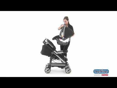 2011 Car Seat - Peg Perego Primo Viaggio SIP 30/30 - Pliko P3 Compact Travel System