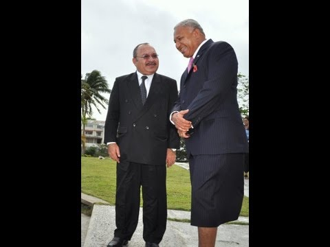 FIJI PRIME MINISTER'S INAUGURAL STATE VISIT TO PNG