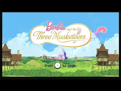 Download Barbie And The Three Musketeers Wii Playthrough - Metroidvania Barbie
