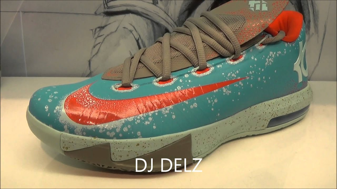 new concept c195a 16167 ... usa nike kd 6 vi maryland blue crab sneaker w djdelz hotornot dj delz  youtube 47993