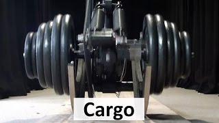 Cargo: Worlds most energy efficient legged robot