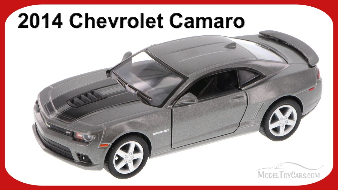 2014 Chevrolet Camaro Silver Kinsmart 5383df 1 38 Scale Diecast