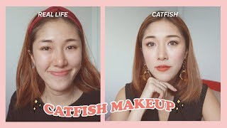 CATFISH MAKEUP ft a giveaway