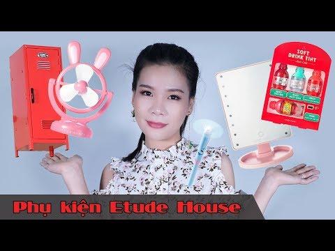 Mở hộp phụ kiện cực xinh mua từ mỹ phẩm Etude House Hàn Quốc ♥ Giveaway | Tiny Loly