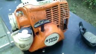 Мотокоса Stihl FS 56 ремонт карбюратора.Регулировка карбюратора.Диагностика