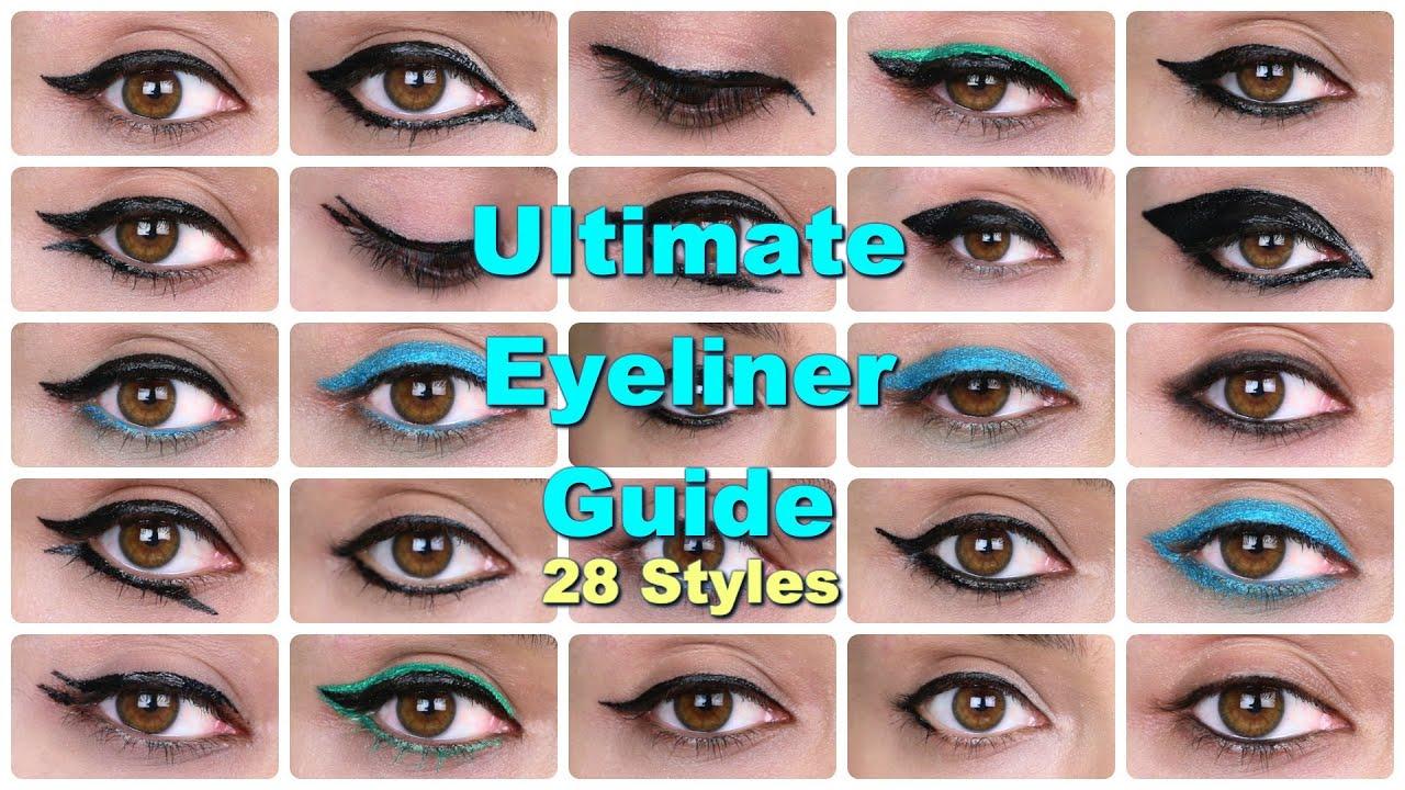 28 eyeliner tutorials ultimate eyeliner guide youtube baditri Image collections