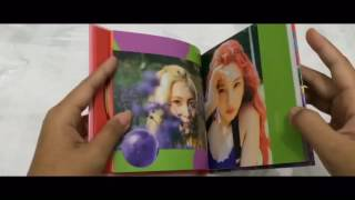 Unboxing Red Velvet (레드벨벳) The Red Summer (Summer 5th Mini Album)