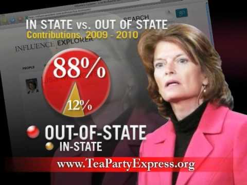 TVAd: Liberal Lisa Murkowski vs. Conservative Joe Miller - U.S. Senate, Alaska
