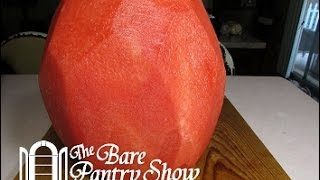 Quickest Simplest Way t๐ Peel a Watermelon