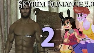 SKYRIM ROMANCE MOD - 2 Girls 1 Let's Play Part 2: OCEANS OF THIRST [60 FPS]