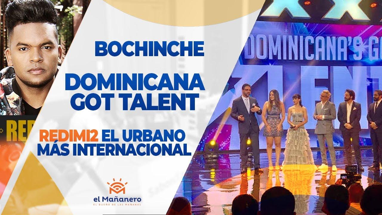 Dominicana got talent, fuego al procurador, Redimi2 el mas internacional ?