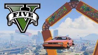 GTA 5 - CARRO VOADOR!!!