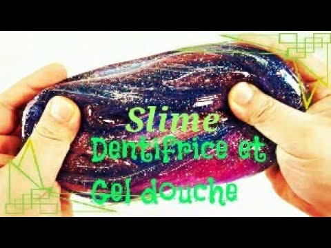 comment faire du slime avec du dentifrice et du gel douche youtube. Black Bedroom Furniture Sets. Home Design Ideas