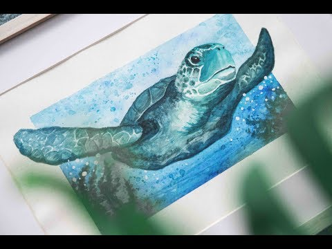 Oceans and Coasts Speed Paint | Animal Artists Collective
