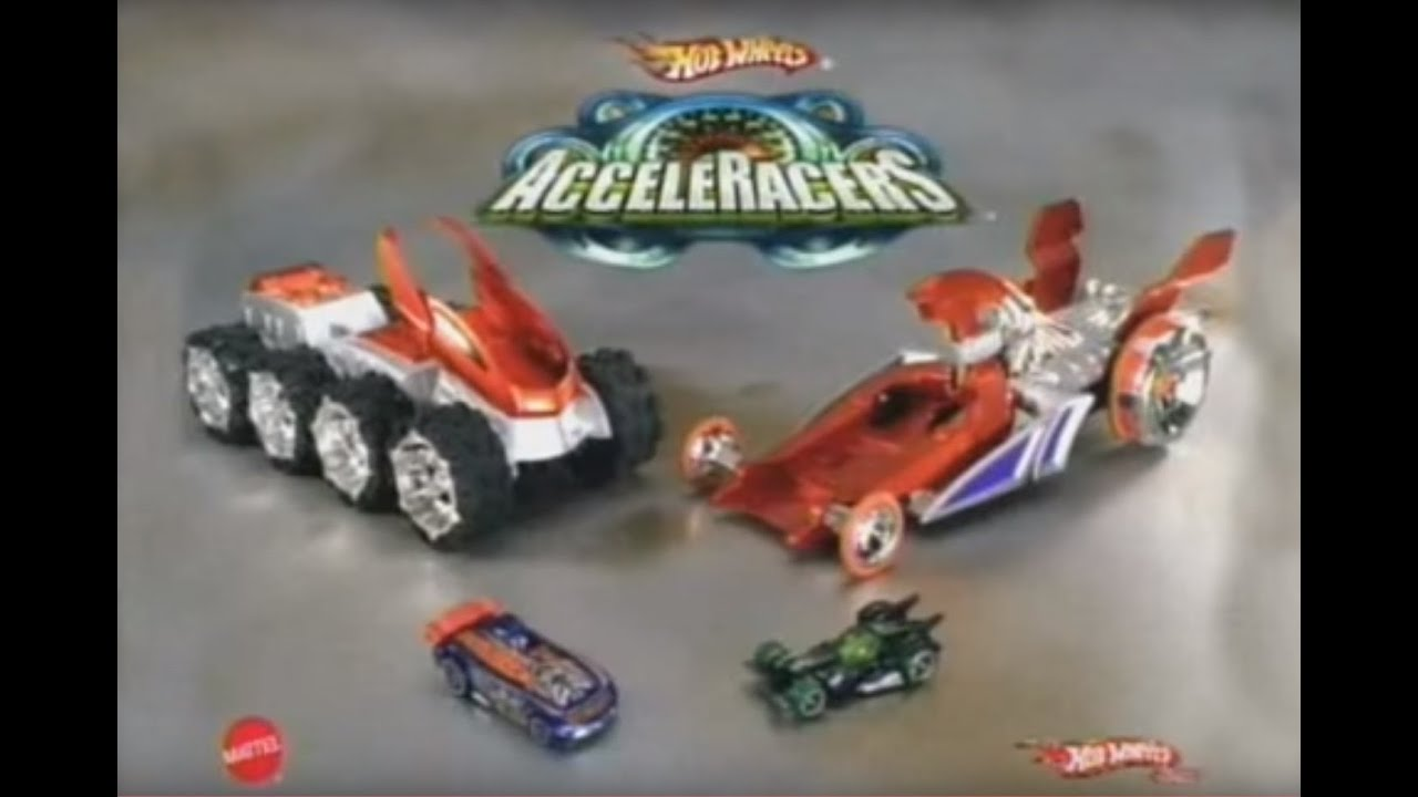 Hot Wheels AcceleRacers 2005 HyperPod commercial - YouTube