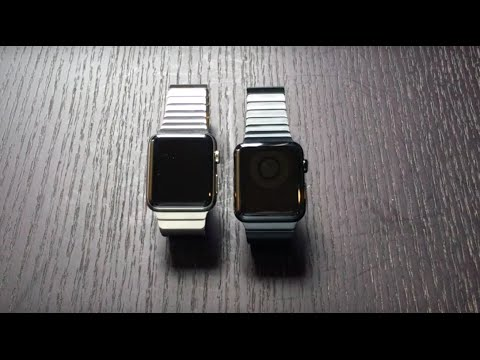 Space Black vs Stainless Steel Apple Watch - Comparison