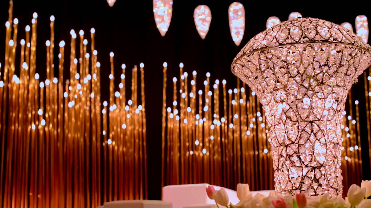 Arabic Wedding Oscar Theme In Madinat Jumeirah Arena Ballroom By Olivier Dolz Wedding Planner