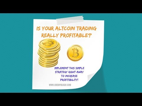 Is your Altcoin Trading Really Profitable?