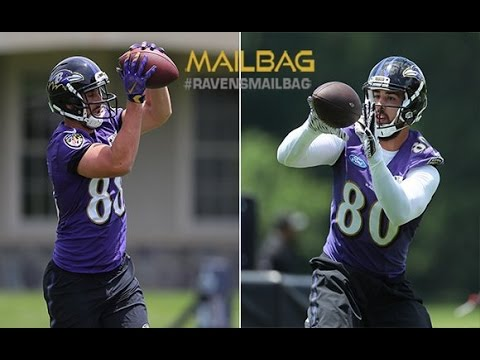 Who Will Win Starting Role At Deep Tight End Position? | #RavensMailbag | Baltimore Ravens