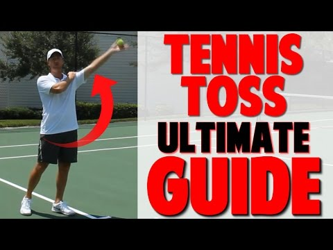How to Toss a Tennis Ball: Complete Guide to Serve Toss (Top Speed Tennis)