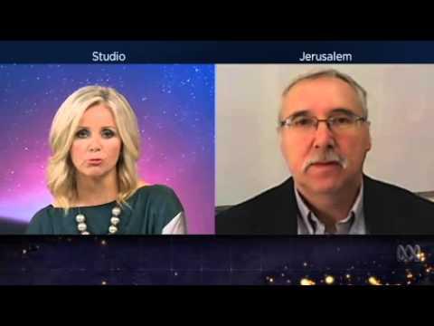 Prof. Gerald Steinberg, on Australian Broadcasting News, December 4, 2014