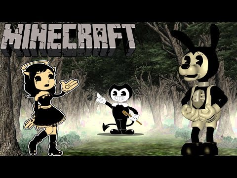 Minecraft WHO IS THE MOST EVIL  BENDY vs BORIS vs ALICE ANGEL