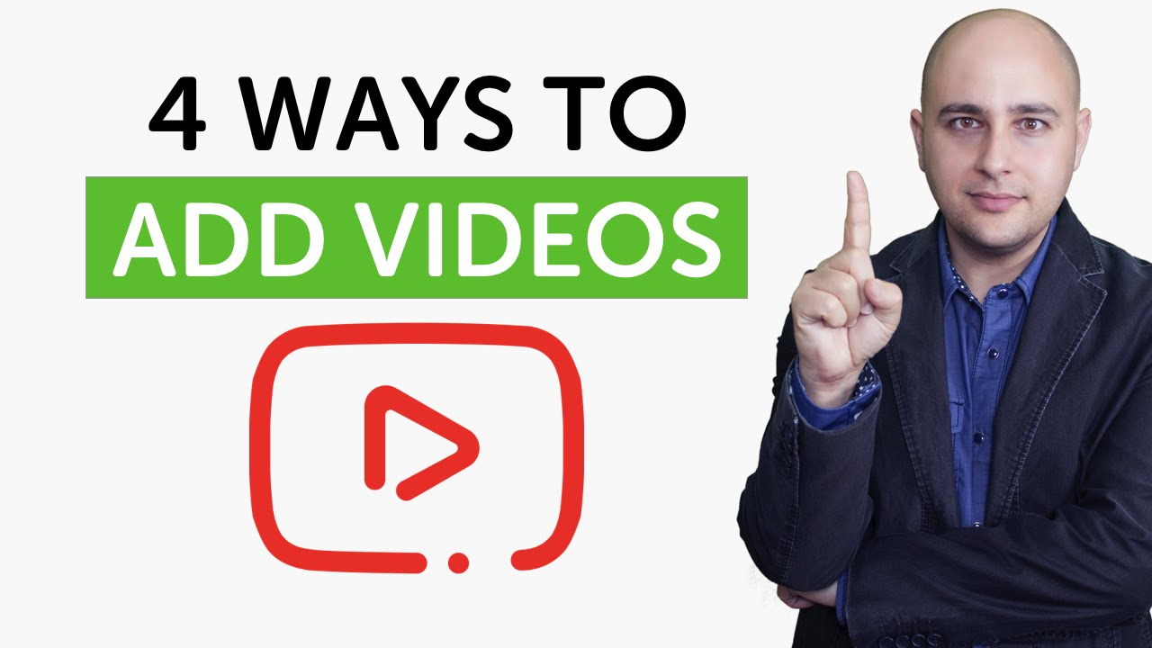 how to add youtube video in website php