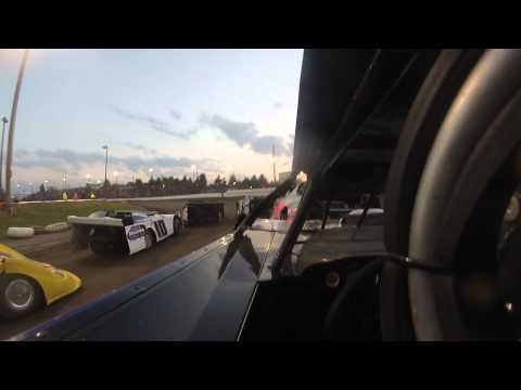 Scott Bull Sycamore Speedway Late Model Heat Race and Trophy Dash 6/13/13