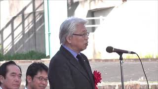 水戸岡鋭治氏挨拶 ことこと列車 完成発表会