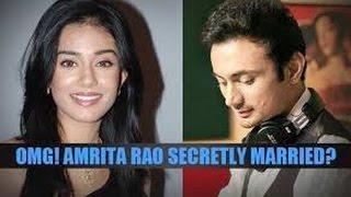 Amrita Rao Married To Boyfriend Rj Anmol