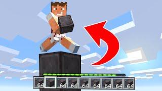 Paso Minecraft Pero Consigo Todos los Bloques que Piso