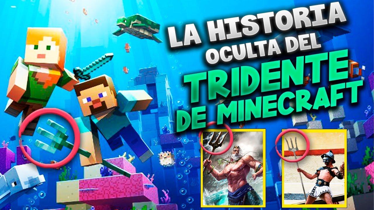 La Historia OCULTA del Tridente de Minecraft ( en realidad es una horca - relación con dioses )
