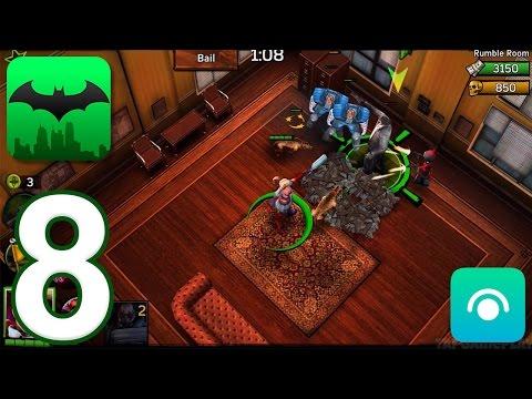 Batman: Arkham Underworld - Gameplay Walkthrough Part 8 - Industry District: Harley Quinn (iOS)