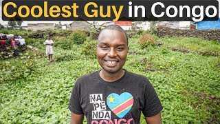 COOLEST GUY in CONGO (refugee turned entrepreneur)