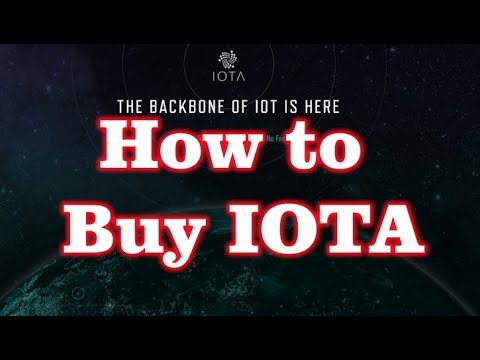 How To Buy IOTA? ( With Coinbase And CoinFalcon)