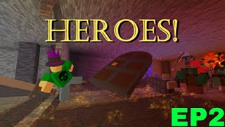 """Roblox Heroes Episode 2 """"Insane Giant Metal Knight Monster Thing"""""""