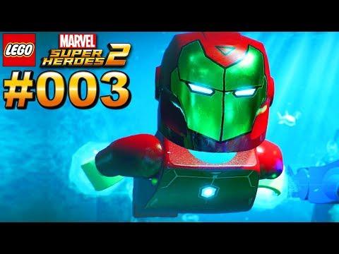 LEGO MARVEL SUPER HEROES 2 #003 Iron Man taucht ab [Deutsch]