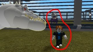 Roblox สวนสัตว์ไดโนเสาร์ ตอนตกลงไปในกรง T-Rex , [พากย์โดยพี่อู๊ด]