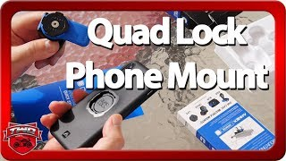 Quad Lock Motorcycle Phone Mount Review And XGrip Comparison