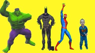 ТАНЦЫ С СУПЕР ГЕРОЯМИ Hulk Batman Spiderman