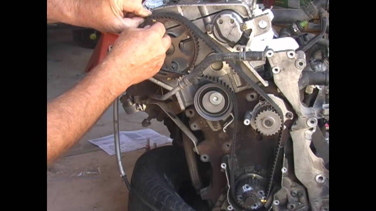 medium resolution of vw audi 1 8 turbo timing belt replacement