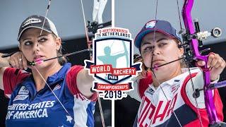 Paige Pearce v Natalia Avdeeva – compound women gold | Den Bosch 2019 Hyundai World Championships