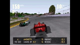 Newman/Haas Racing ... (PS1) 60fps
