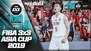 China v New Zealand | Men's Full Game | FIBA 3x3 Asia Cup 2019