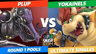 SSC 2019 SSBU - PG Red Bull Plup (Ridley) VS  Yokainels (Bowser) Smash Ultimate Round 1 Pools